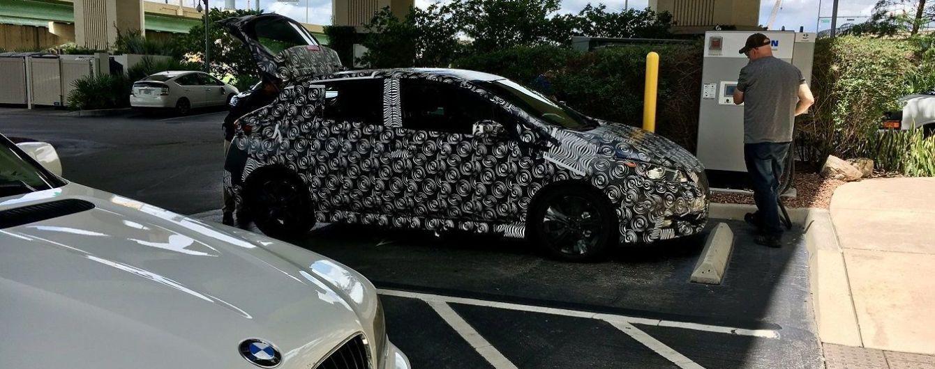 Nissan приступил к дорожным испытаниям нового электрокара Leaf
