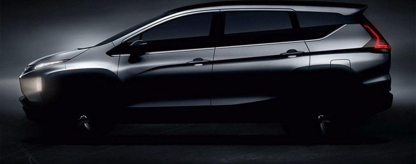 Mitsubishi опубликовала тизеры нового серийного минивэна
