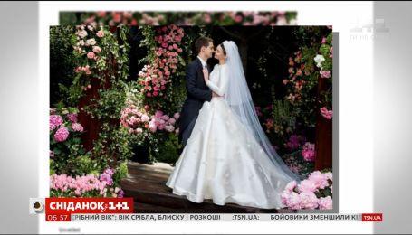 Міранда Керр та Еван Шпігель опублікували фото з весілля