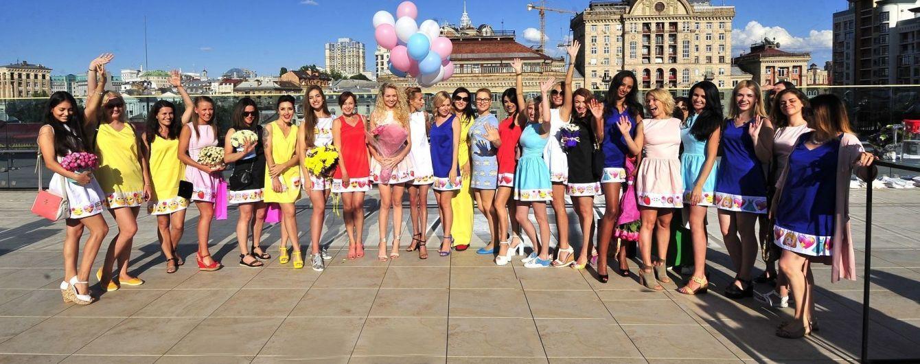 Добрыднева, Витвицкая и LILU раздали дизайнерские платья в центре Киева