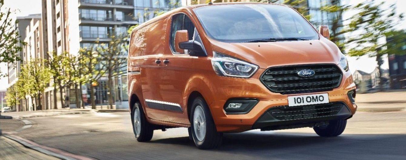 Ford представил новый коммерческий фургон Transit Custom