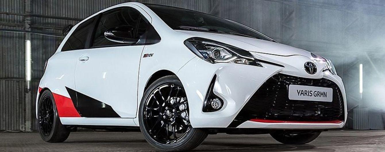 """""""Заряженный"""" Toyota Yaris GRMN выйдет ограниченным тиражом"""