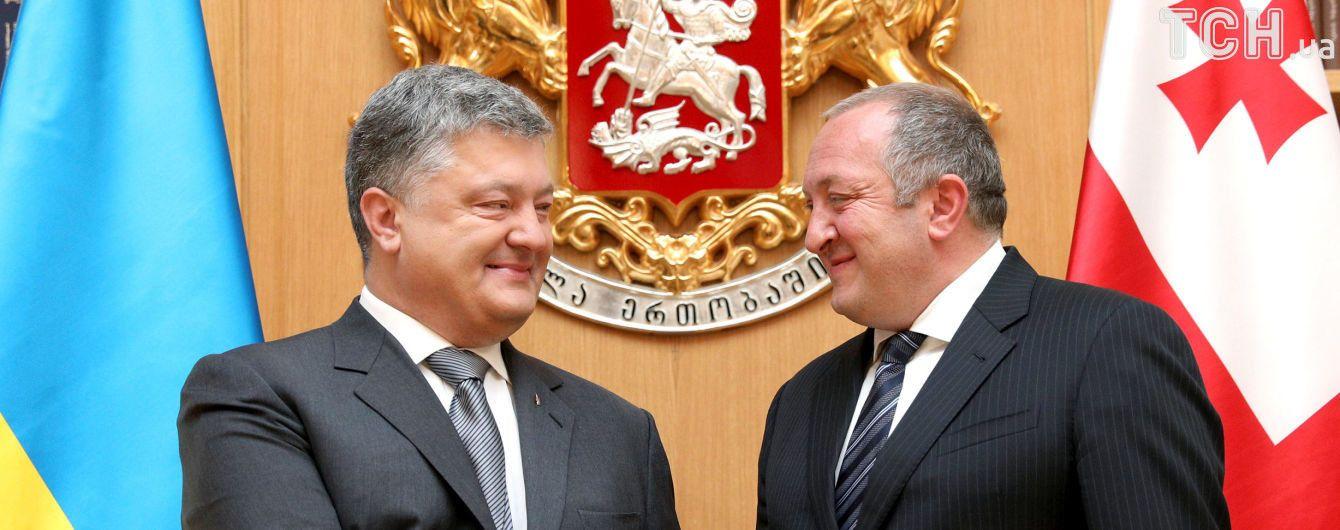 Украина и Грузия подписали соглашения о стратегическом партнерстве и содействии в сфере образования