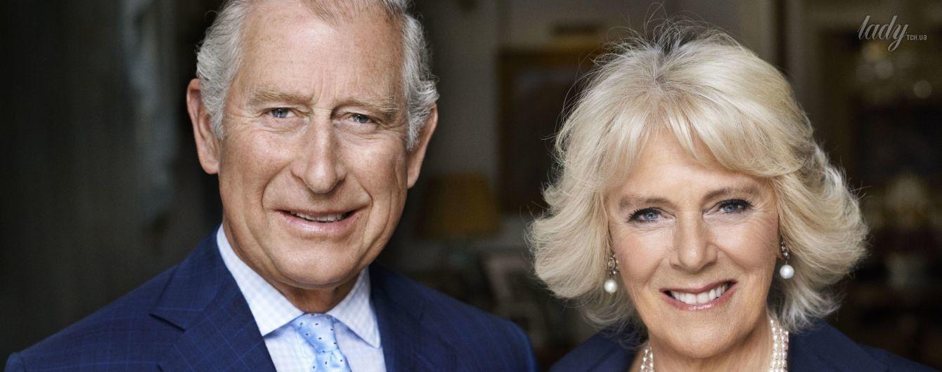 В честь юбилея герцогини: Камилла и принц Чарльз на новом официальном портрете