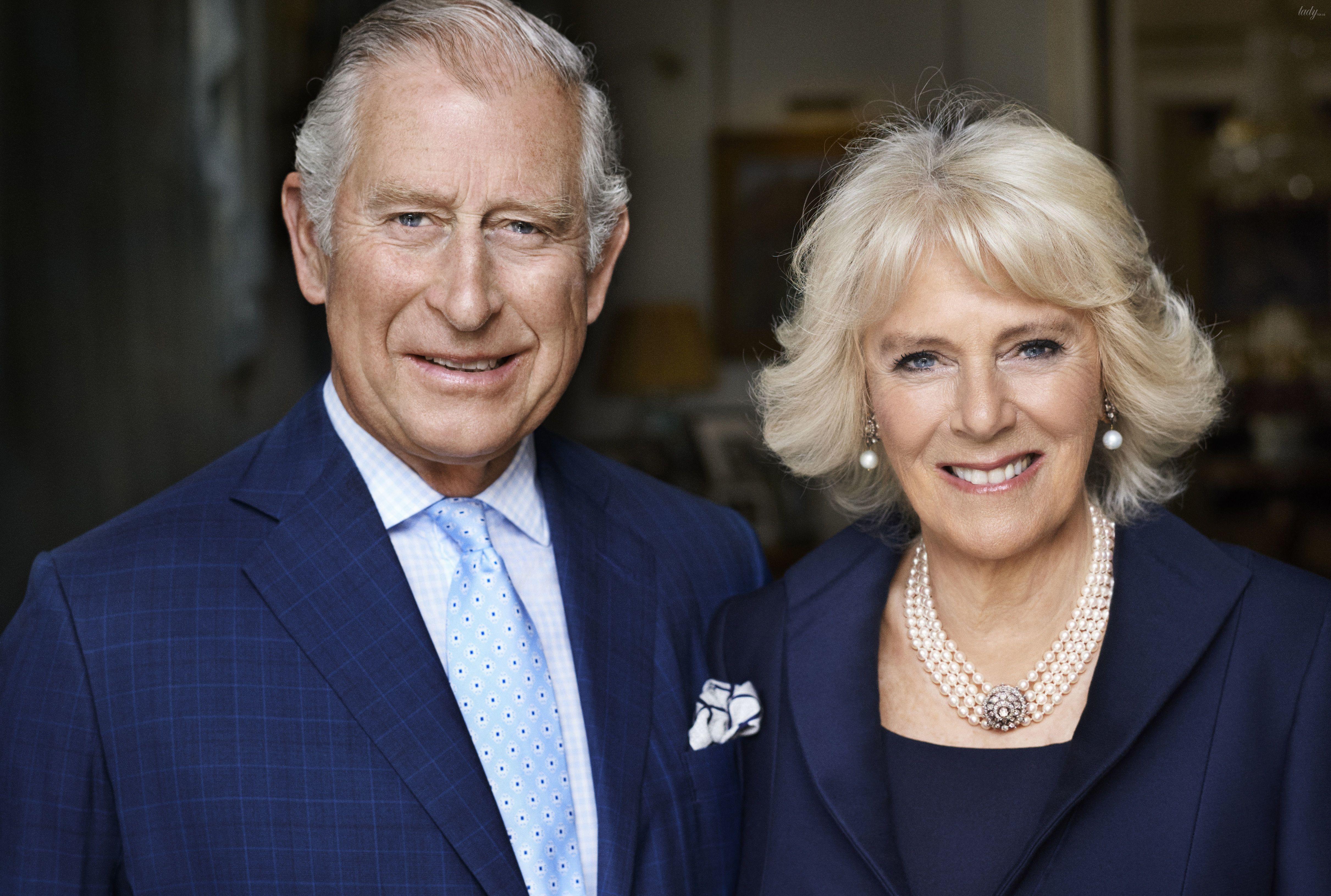 Принц Чарльз и герцогиня Корнуольская Камилла