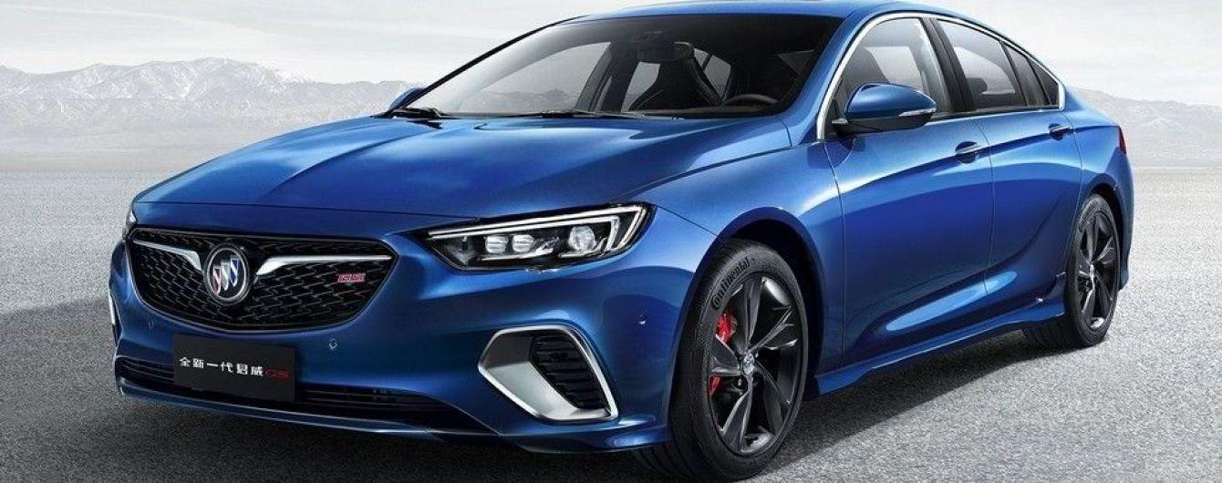"""Buick показал """"заряженный"""" Regal GS нового поколения"""