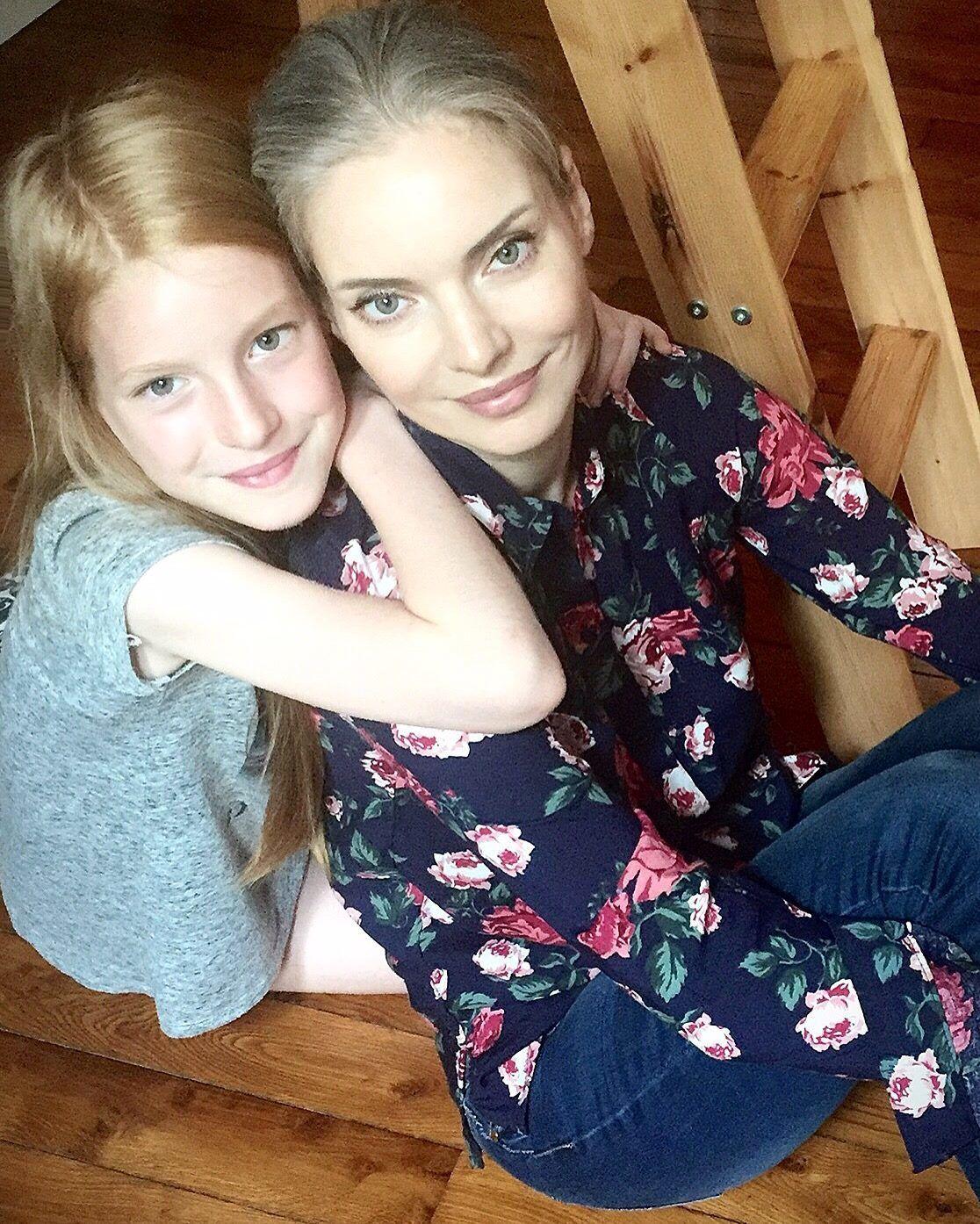 Наталія Окунська та донька_2