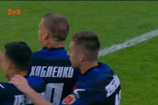Динамо - Черноморец - 0:1. Видео гола Хобленко