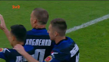 Динамо - Чорноморець - 0:1. Відео голу Хобленка