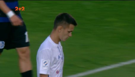 Динамо - Чорноморець - 1:1. Відео голу Шепелєва
