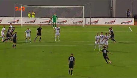 Красивий дебют: новачок Сталі забив переможний гол у ворота Зорі
