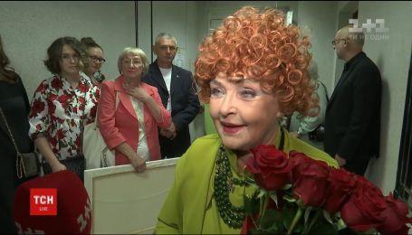 Ада Роговцева на сцене отметила 80-летний юбилей