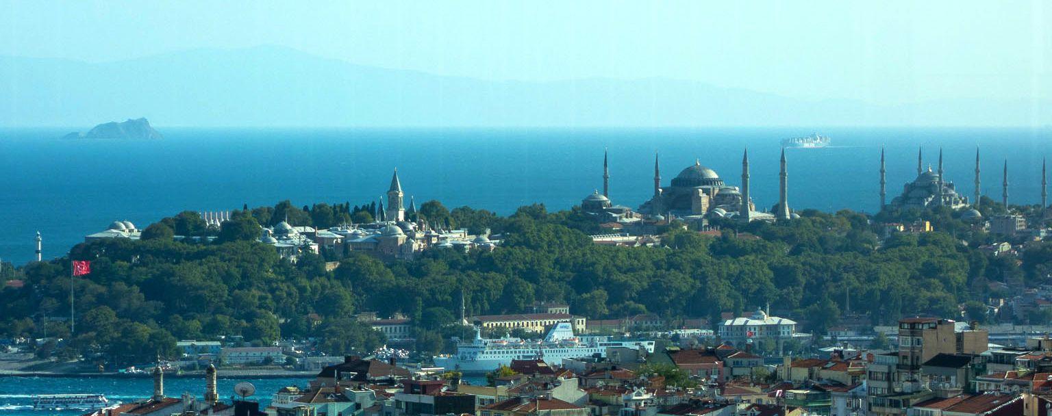 Стамбул, палац Топкапи, Блакитна мечеть