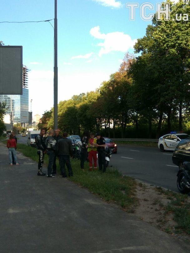 У Києві під час смертельної ДТП мотоциклісту відірвало руку