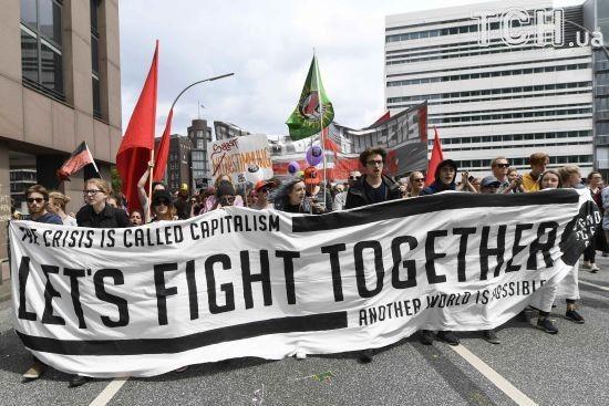 Німецька влада компенсує постраждалим мільйонні збитки від протестів у Гамбурзі
