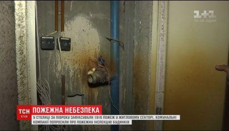 В Україні зросте пожежна небезпека в будинках через різке підвищення температури