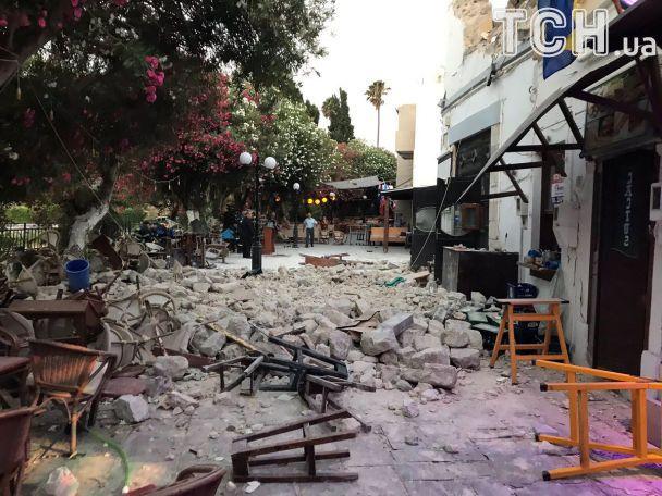 Землетрясения в Греции
