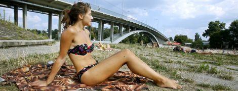 У спеку в Києві заборонили купатися на всіх пляжах