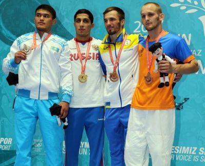 Українці вибороли вже 13 медалей Дефлімпіади