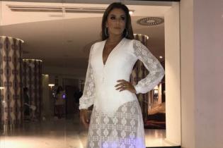 В кружевном платье и на каблуках: Ева Лонгория продемонстрировала вечерний образ