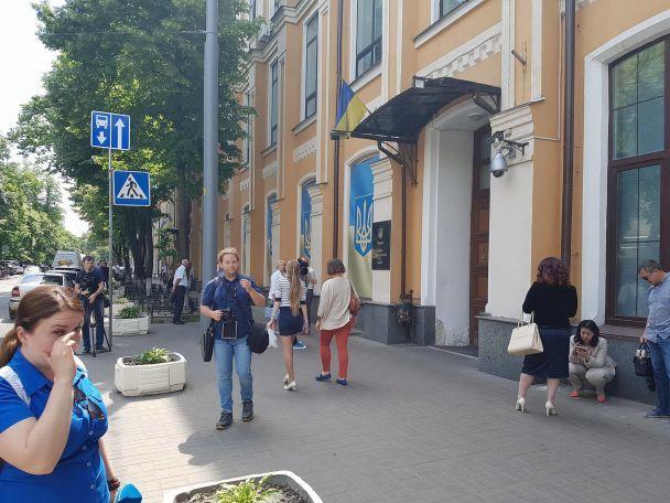 У Вищому адмінсуді в Києві переплутали замінування із пожежею