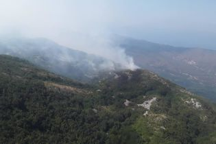 Масштабні пожежі у Чорногорії: українські рятувальники показали, як допомагають побороти вогонь