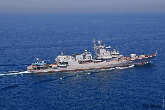 """Російський військовий корабель шпигує за навчаннями """"Сі Бриз -2017"""" - ЗМІ"""