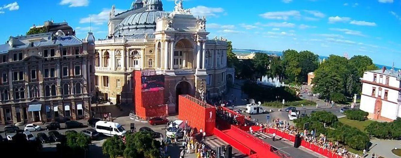В Одесі урочистою церемонією відкрився міжнародний кінофестиваль