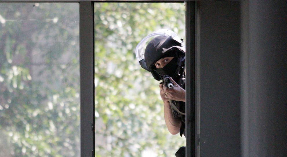 Боевики почти не беспокоили бойцов АТО, но уничтожили три гражданских дома в Зайцево