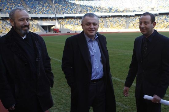 """Суркіс знову підніме питання безпеки, якщо """"Динамо"""" доведеться їхати в Маріуполь"""