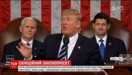 Дональд Трамп хоче впровадити нові санкцій проти Росії