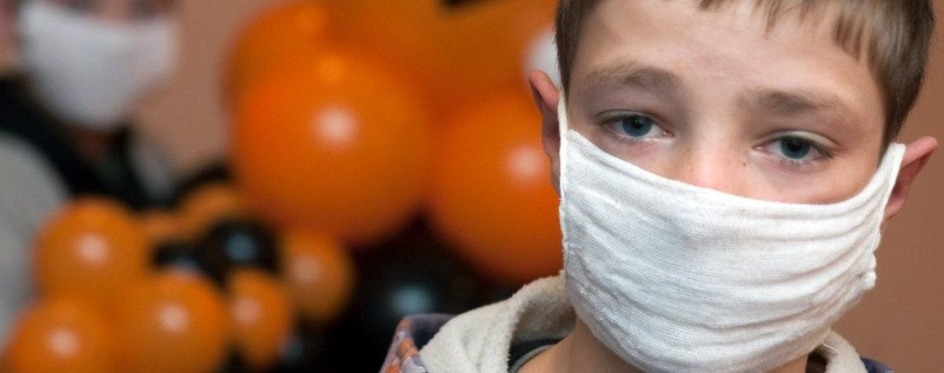 За последнюю неделю в Украине увеличилось количество больных гриппом и ОРВИ. Инфографика