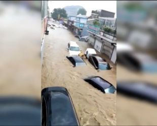 Мощное наводнение уничтожило город в Китае
