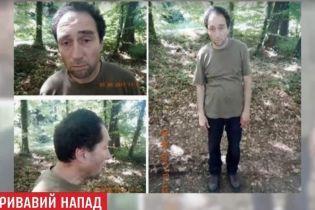 В Швейцарии опубликовали фото мужчины, который бросался на людей с бензопилой