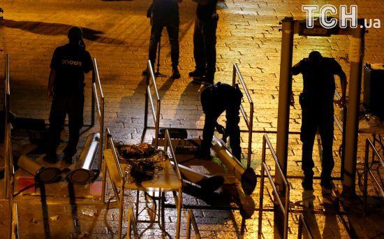 Ізраїль вирішив прибрати металошукачі, які спровокували криваві зіткнення з палестинцями