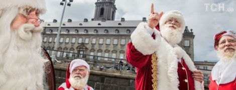 Санта-Клауси зі всього світу з'їхалися до Данії на ювілейний казковий конгрес