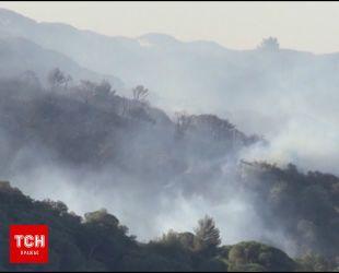 Лесные пожары охватили юг Франции и остров Корсика
