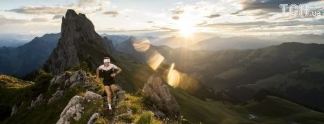 Reuters опубликовало удивительные фото соревнования по бегу в итальянских Альпах