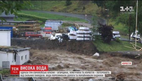 Одразу три країни Європи потерпають від сильних паводків