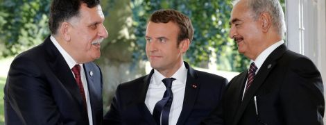 Макрон допоміг сторонам кривавого конфлікту у Лівії домовитися про перемир'я