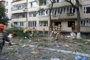 Під час вибуху у київській багатоповерхівці загинула людина