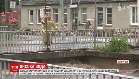 Из-за сильных паводков Германия готовится к эвакуации