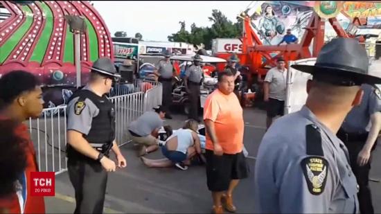 Смертельні розваги: у США через аварію в парку атракціонів загинула одна людина, ще сім отримали травми