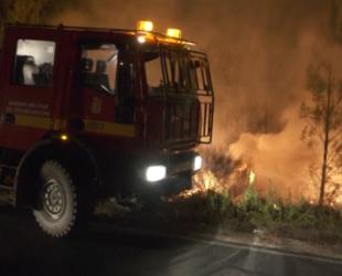 Новые лесные пожары охватили центр Португалии