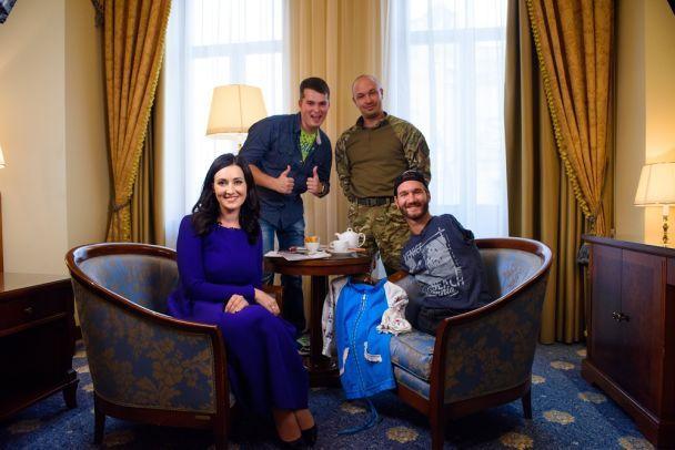 Вперше благодійний виступ Ніка Вуйчича відбудеться в Києві на Хрещатику