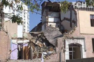 Постраждалі від вибуху на Голосіївському проспекті прийшли до будинку товаришів за нещастям