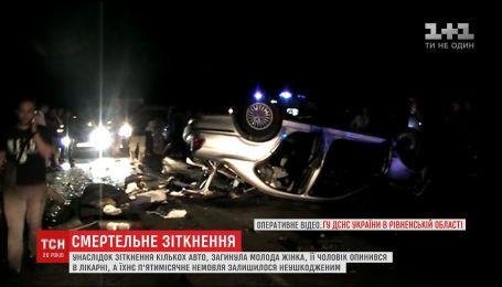 В результате ужасной автотрощи в Ровенской области осиротел пятимесячный младенец