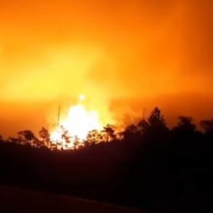 Пекельне полум'я: у РФ після вибуху газопроводу стовп вогню розміром з 20-поверхівку здійнявся в небо