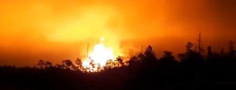 Адское пламя: в РФ после взрыва газопровода столб огня размером с 20-этажку поднялся в небо