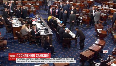 Сенат США поддержал усиление санкций против России